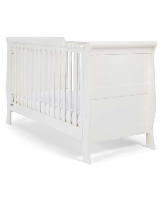 Mia Cot/Toddler Bed - White