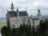 Neuschwanstein Castle!  A trip to Germany is in order for us in the future. A visit to this castle would be fantastic!
