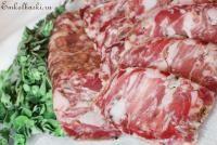 Белорусская домашняя вяленая колбаса