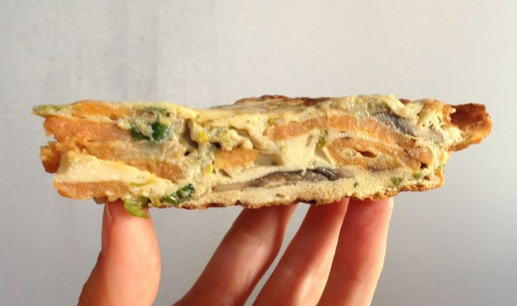 Frittata Recipe - Use up your daggy veg and herbs in these delicious frittata recipe.