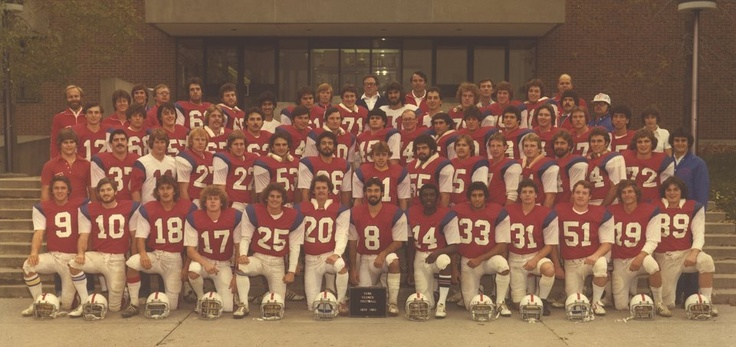 It's another THROWBACK THURSDAY! Flashback to 1979 and take a look at the football team!