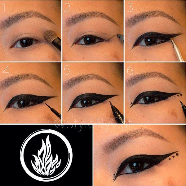 Divergent Makeup Series: Dauntless makeup tutorial.