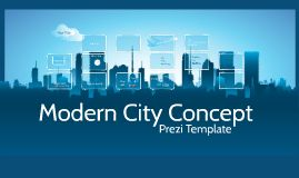 Prezi Template with moving a city 3D background and trendy boxes for your content. Want to present outside the box? Zoom in and add your content anywhere else on the canvas.