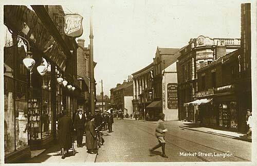 Market Street, Longton, S-O-T