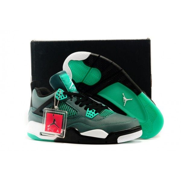 where to buy authentic air jordan 4 mens 30th anniversary teal retro basketball  shoes free shipping