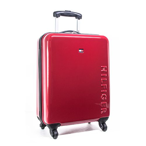 The Tommy Hilfiger Bristol 25 inch spinner is a great addition to any trip! This hard side spinner features a durable and lightweight composite polycarbonate shell, locking, aircraft grade aluminum trolley system, convenient top and side carry handles, and four multi-directional spinner wheels. The interior is fully lined, quick release tie down straps and zippered pocket for storage! Dimensions: 25 x 17 x 9. Weight: 8.19lbs. When ordering multiples of this item, additional shipping fees may…
