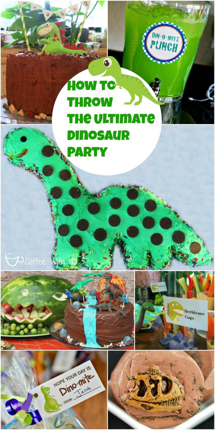 Are you planning a dinosaur birthday party?  Look no further than our guide for How to Plan a Dinosaur Party!  We have tons of great tips for throwing a birthday party! These are popular for boys birthdays but also great for girls birthdays too!