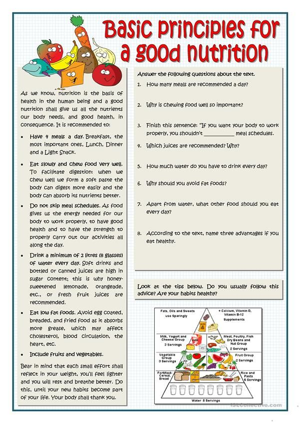 essay on principles of nutrition