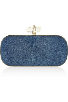 Marchesa Lily stingray clutch | THE OUTNET
