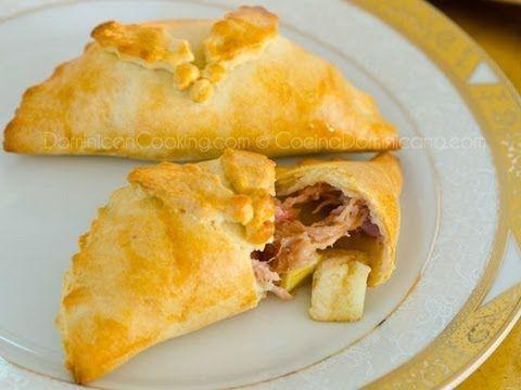 Empanada de cerdo y manzana recipe (pork & apple pasty)