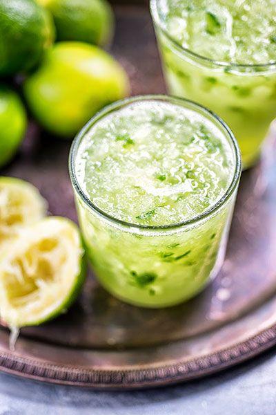 Cucumber Lemongrass Caipirinha | Super Golden Bakes
