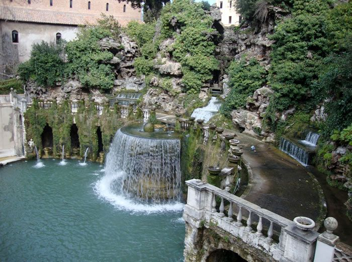 When In Rome You Must Visit Tivoli Fountains (shared via SlingPic)