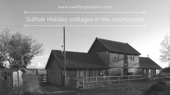 Converted barns on a working farm in Suffolk made in to two cosy holiday cottages. Beautiful views close to the coast. Great holiday idea for a countryside weekend away Suffolk coastal area.