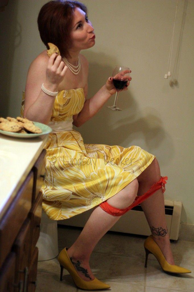 Horrible Housewife photo shoot idea