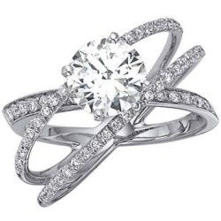 best 25 circle wedding rings ideas on pinterest circle engagement rings round cut engagement rings and round halo engagement rings - Three Band Wedding Ring