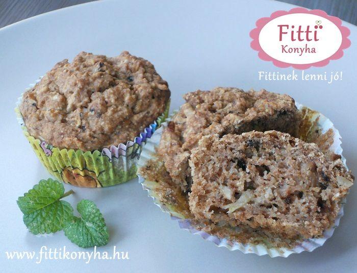 Almás muffin - Szilvi ÍzVilág