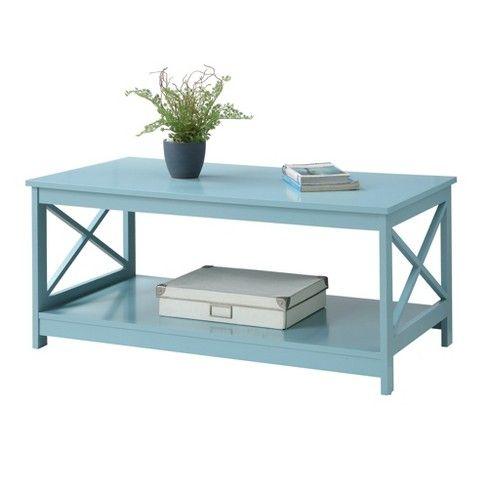 Oxford Coffee Table Sea Foam Green Johar Furniture Apartment