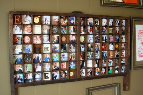 Printers Tray Photo Display