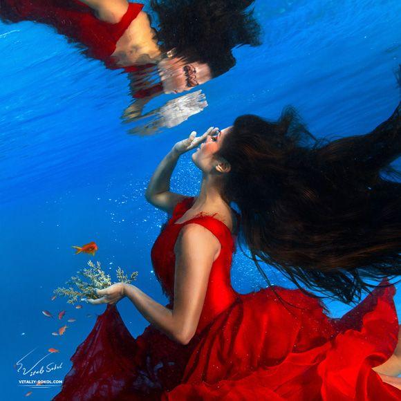 фотографии моделей под водой - Поиск в Google