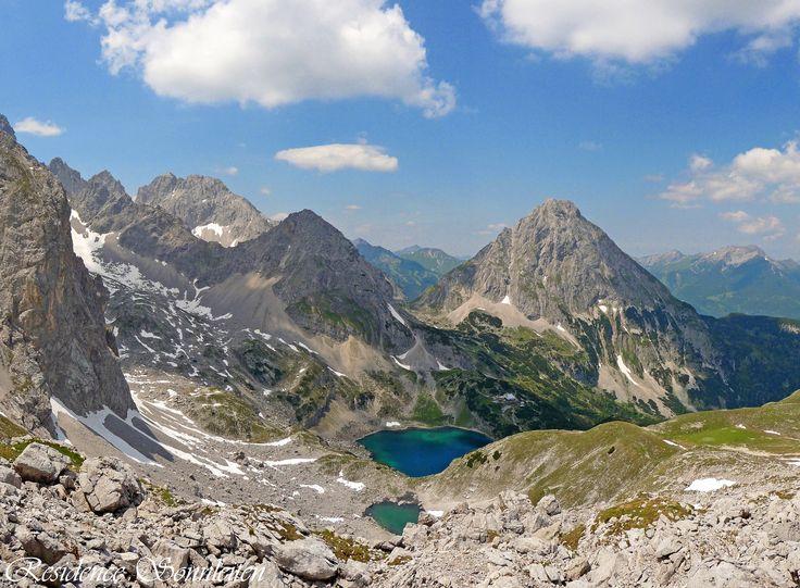 Juli - Sonnenspitze, Drachensee und Coburger Hütte