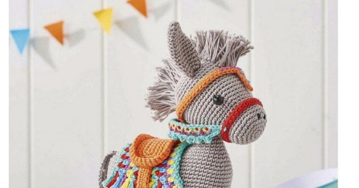 Complete Pattern for this Little Donkey. :-)