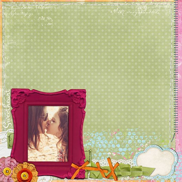 #sweetheart | Inside my enchanted garden by Vanylla Flavor Designs @ DSB @Digiscrappersbrasil