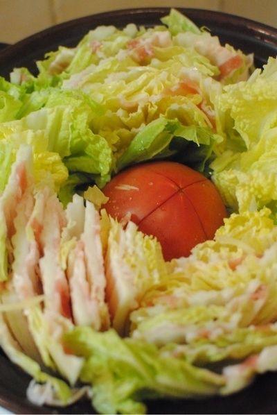 あったか鍋♪トマト入り白菜と豚バラ肉の重ね蒸し】 by ゆうこの ...