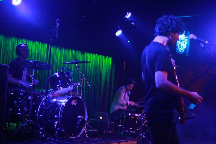 Poliça rythm section.... yep 2 live drummers!