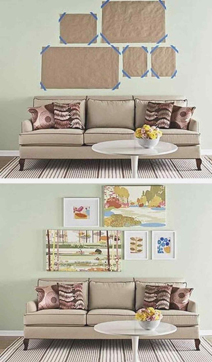 How to hang canvas art without frame 21 pictures