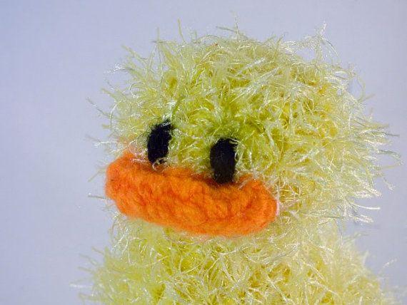 Crochet ducky on Etsy! Soooo cute!
