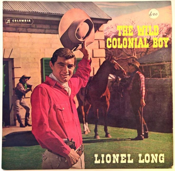 Lionel Long - The Wild Colonial Boy (Australia)