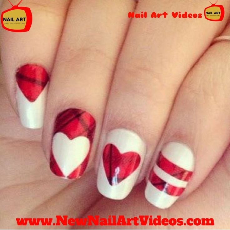 Best 25+ Valentine day nails ideas on Pinterest | Pretty ...