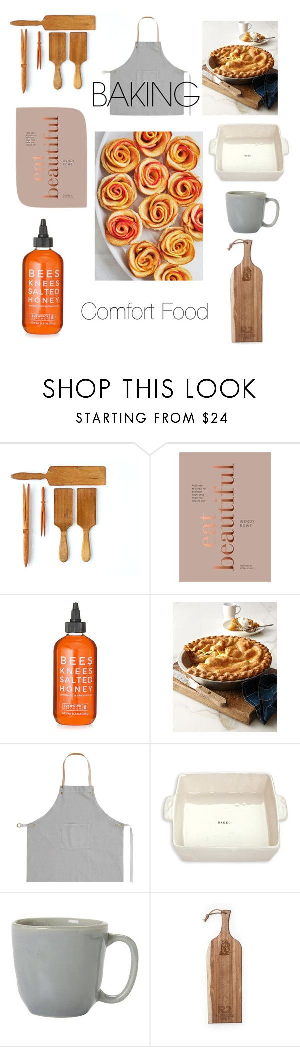 """""""Sunday Baking"""" by elisejas ❤ liked on Polyvore featuring interior, interiors, interior design, home, home decor, interior decorating, Sweet Lady Jane, Rae Dunn, Juliska and Picnic Time"""