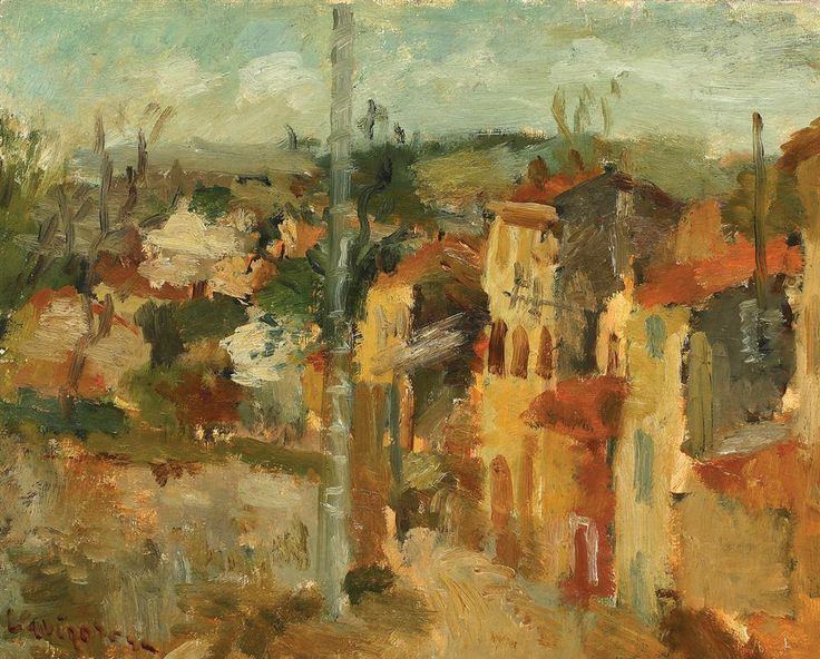 Lucian Grigorescu (February 1, 1894, Medgidia – October 28, 1965, Bucharest) was a Romanian post-impressionist painter.  In 1948, he was elected to the Romanian Academy.