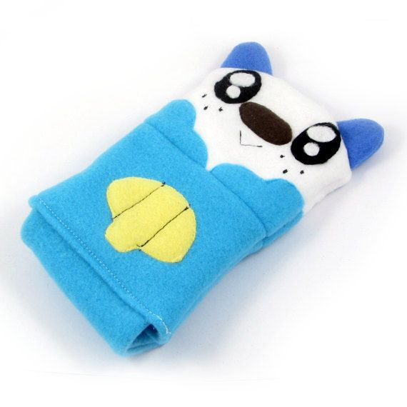 Pokemon Oshawott Nintendo DS case pouch by fleacircusdesigns, $25.00