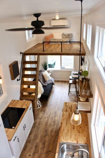 26 'Chateau Shack Tiny Home auf Rädern – – DIY House Design