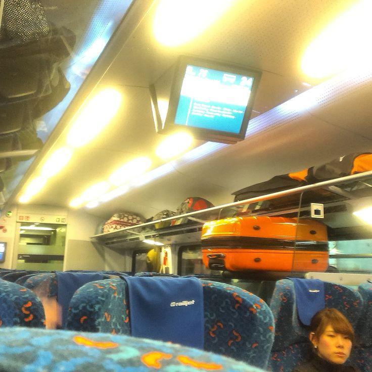 Wnętrze wagonu railjeta
