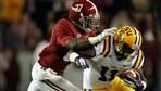 Roll Tide Roll! ---> Alabama is a unanimous No. 1 and LSU slipped another spot in The Associated Press college football poll.