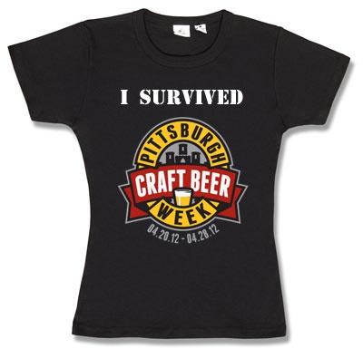 I Survived Pittsburgh Craft Beer Week: Pittsburgh Crafts, Week Pcbw,  T-Shirt, Beer Week, Craft Beer, I Survival, Beer Obsession, Crafts Beer, Survival Pittsburgh