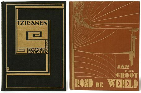 left: Tziganen (1924); right: Rond de wereld (1931).    Elsewhere on { feuilleton }  • The book covers archive