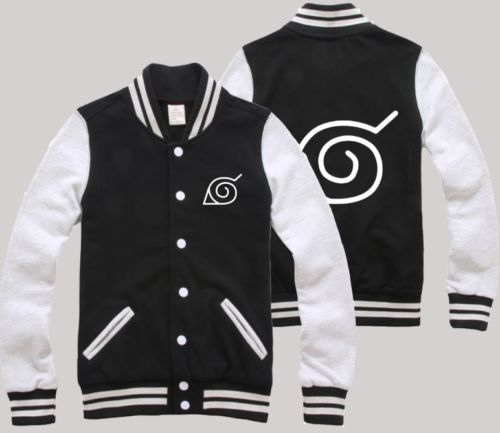 Anime Naruto Clothing JACKETS Fashion NFL NHL NBA JERSEY Cosplay Hoodie#2