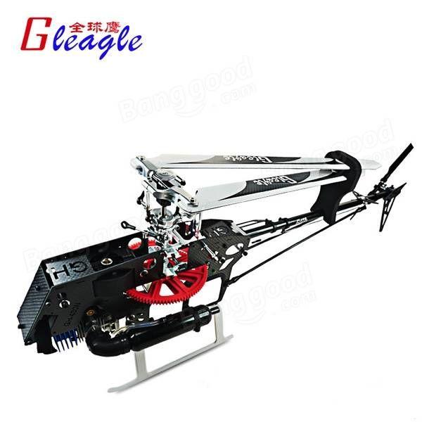 Global Eagle 480N DFC Fuel Oil Nitro RC Helicopter Frame Kit Sale - Banggood.com