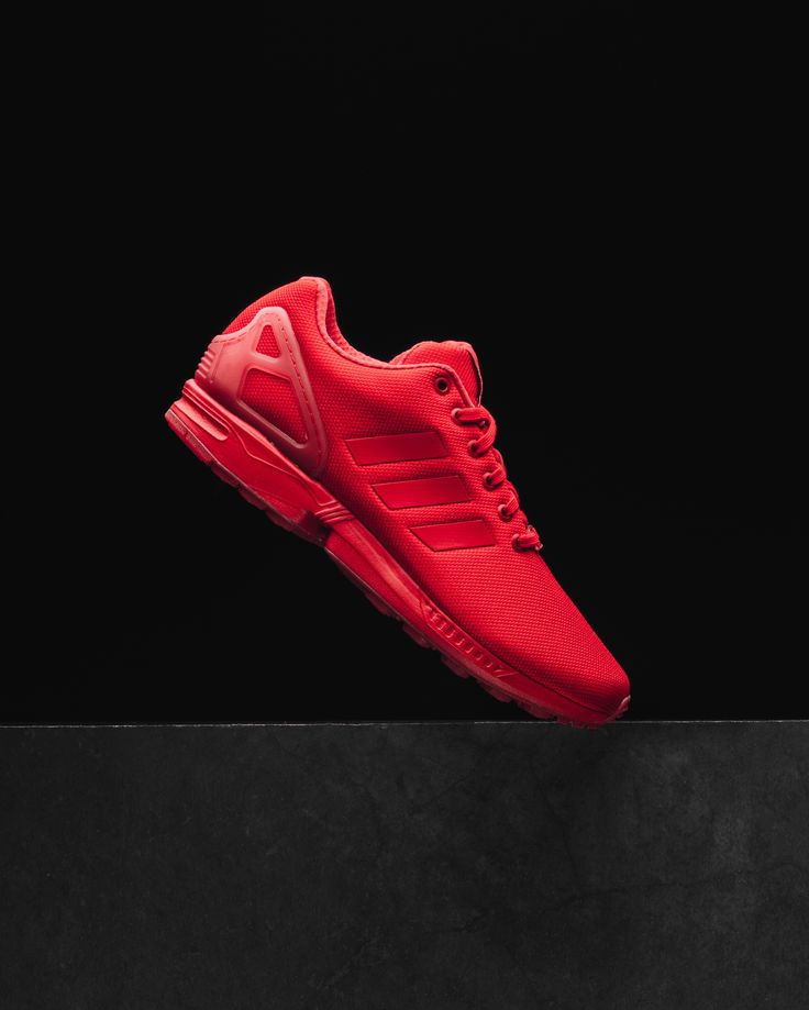 Adidas Zx Flux Shoes Red