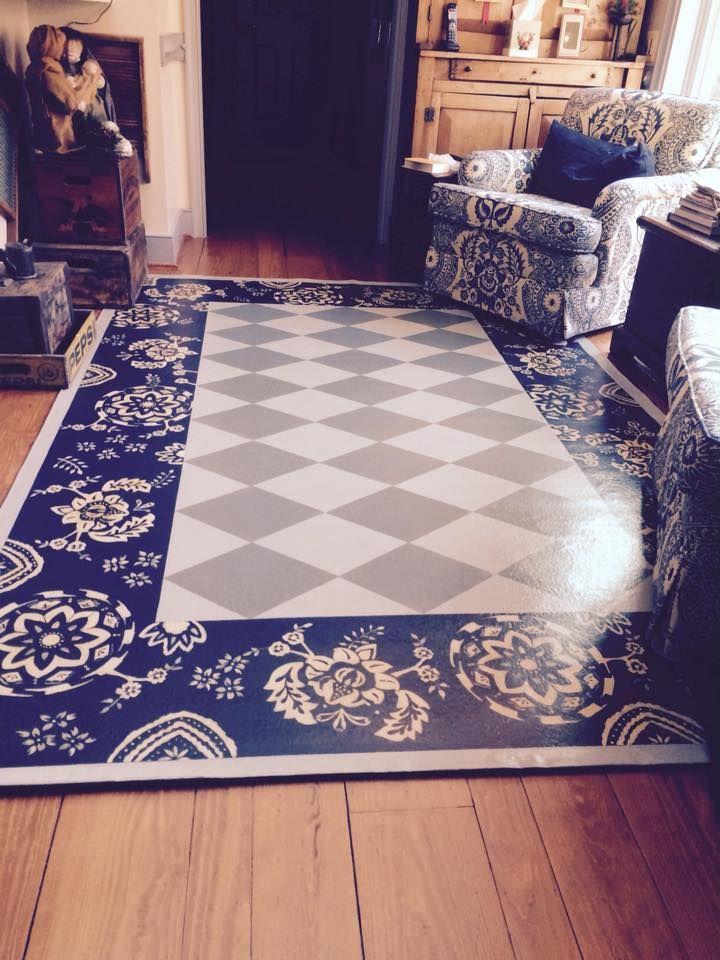 156 Best Floor Cloths Images On Pinterest Carpets