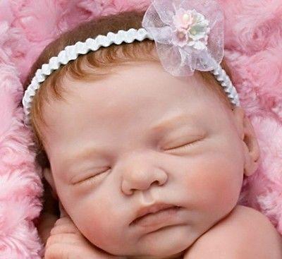 Reborn Baby Doll Lifelike Marissa May Ashton Drake So