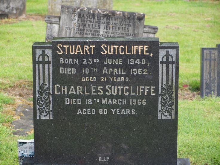 Stuart Sutcliffe Grave, Liverpool, England