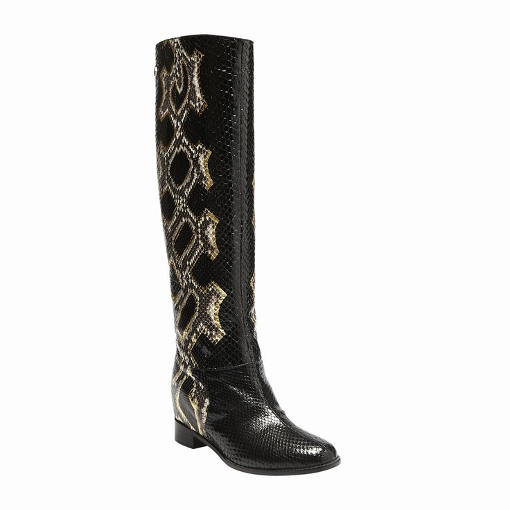 #philippplein #fallwinter2014 #fw2014 #shoes #boots #leather #snakeskin