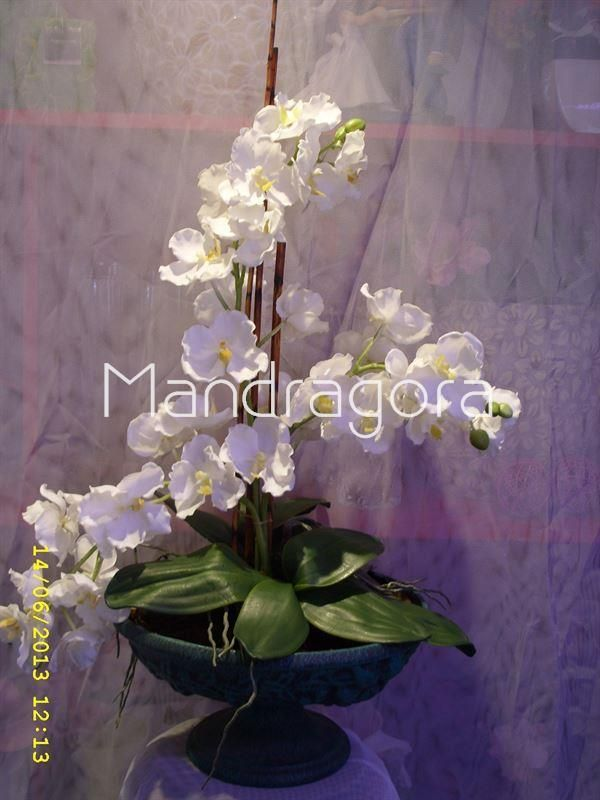 36 best flores sala comedor images on pinterest flower for Orquideas artificiales