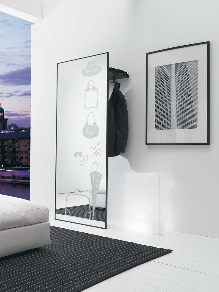 Specchio da ingresso ad angolo rimpiattino arredaclick for Mobili di design d occasione