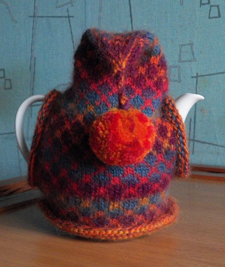 850 best Tea Cosies images on Pinterest | Knitting stitches, Tea ...